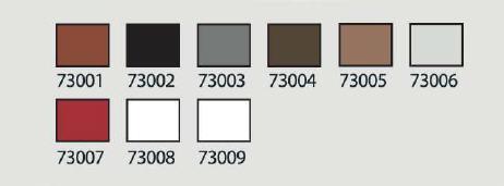 vzorkovník farieb Train Color