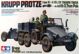 Krupp Protze Kfz,69 Towing Truck with 3,7cm Pak