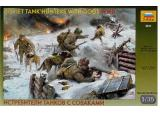 Soviet Tank Hunters with Dogs WWII