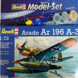 Arado Ar 196 A-3 Model Set