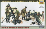 120mm Mortar with Crew