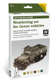AFV Weathering set for Green vehicles