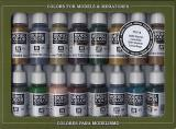 Model Color Set No 14 - WWII German Camouflage