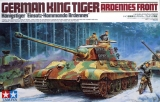 German King Tiger Ardennes Front