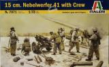 15 cm Nebelwefer 41 with Crew