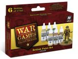 British War Games Paint Set