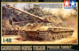 German King Tiger Porsche Turret