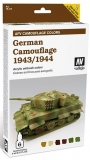 AFV Painting System-German Camouflage 1943/1944