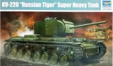 KV-220 Russian Tiger Super Heavy tank