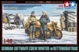 German Luftwaffe Crew (Winter) w/Kettenkraftrad