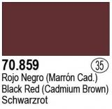 Black Red (Cadmium Brown) MC035