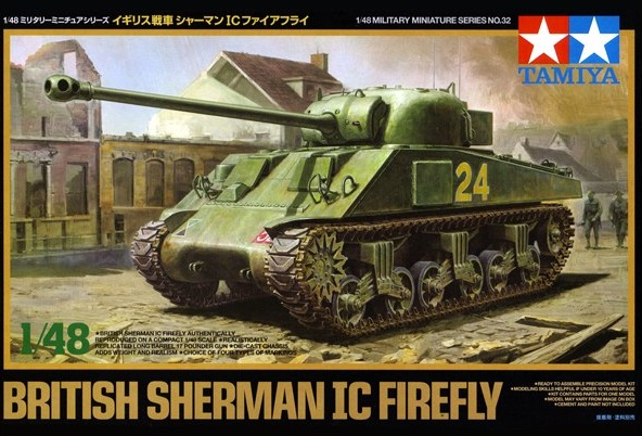 British Sherman IC Firefly