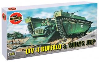 LTV 4 Buffalo & Willys Jeep