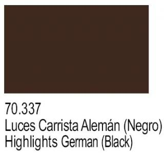 Highlights German (Black) PA337
