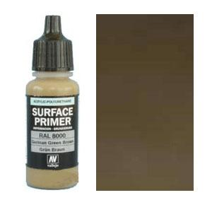 Acrylic Polyurethan Primer 17 ml German Green Brown
