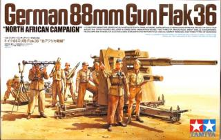 88mm Gun Flak 36 - North African Campaign