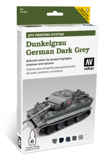 AFV Painting System - German Dark Grey
