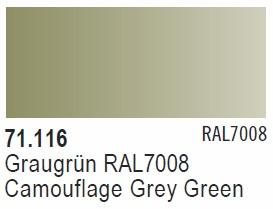 Camouflage Grey Green RAL7008
