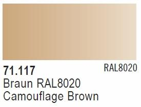 Camouflage Brown RAL8020