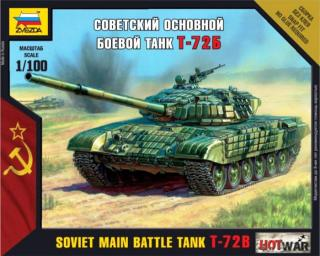 Soviet Main Battle Tank T-72B