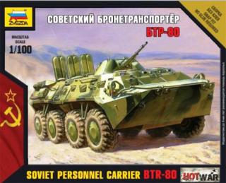 Soviet Personnel Carrier BTR-80