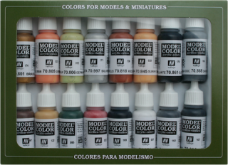 Model Color Set No 7 - WWII German Colours