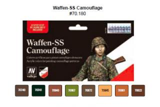 Model Color Set No 80 - Waffen SS Camouflage