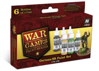 German SS War Games Paint Set