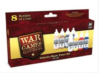 Infantry Basic War Games Paint Set