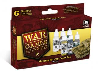 German Armour War Games Paint Set
