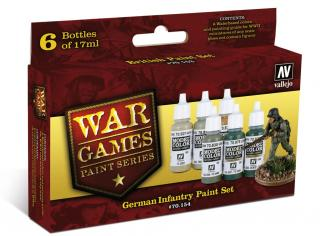 German Infantry War Games Paint Set