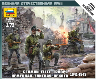 German Elite Troops 1939-43
