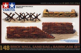 Brick Wall/Sand Bag/Barricade