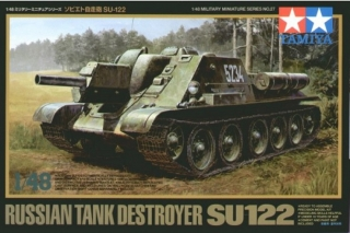 Russian Tank Destroyer SU-122