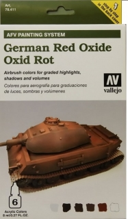 AFV Painting System-German Red Oxide