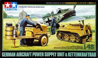 German Aircraft Power Supply Unit & Kettenkraftrad