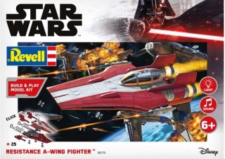 Build & Play Resistance A-wing Fighter, red