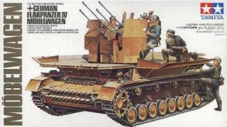 German Flakpanzer Mobelwagen