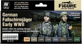 German Fallschirmjager Early WWII Set