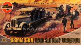 88mm Gun and Sd Kfz7 Tractor