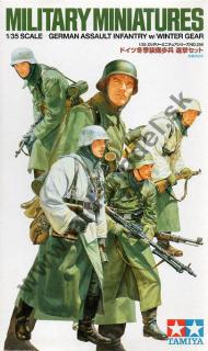 GERMAN ASSAULT INFANTRY with WINTER GEAR