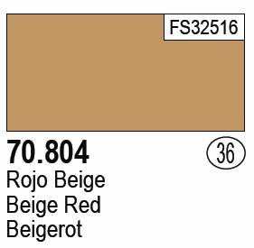 Beige Red MC036